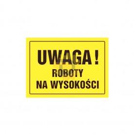 Uwaga! Roboty na wysokości