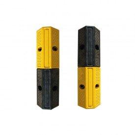 Odbojnica rampowa kauczukowa żółto-czarna