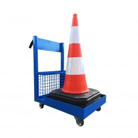 Wózek do transportu pachołków i akcesoriów