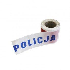 Taśma odgrodzeniowa POLICJA