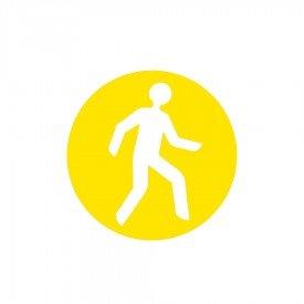 Znaczniki podłogowe pieszy (okrąg)