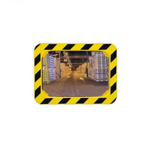 Lustra z żółto-czarną ramą POLYMIR