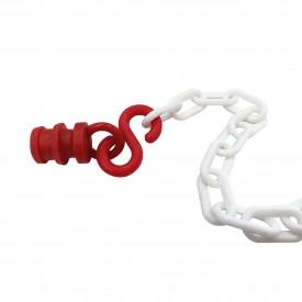 Nasadka do łańcucha na słupki elastyczne