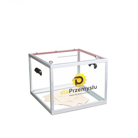 Urny wyborcze z pleksi