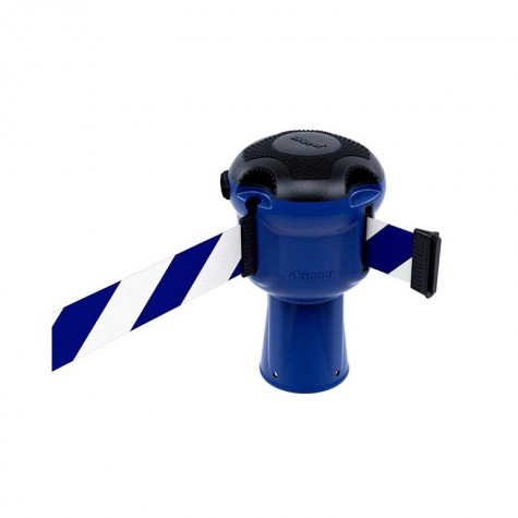 Głowica Skipper niebieska z taśmą 9 m biało-niebieską