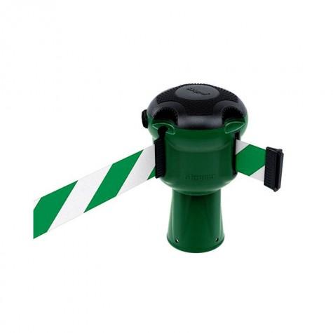 Głowica Skipper zielona z taśmą 9 m biało-zieloną