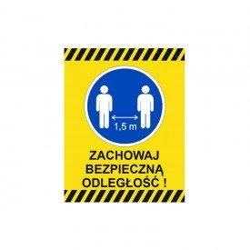 Zachowaj bezpieczną odległość!