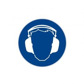 """Znacznik 5s """"Nakaz stosowania ochrony słuchu"""""""