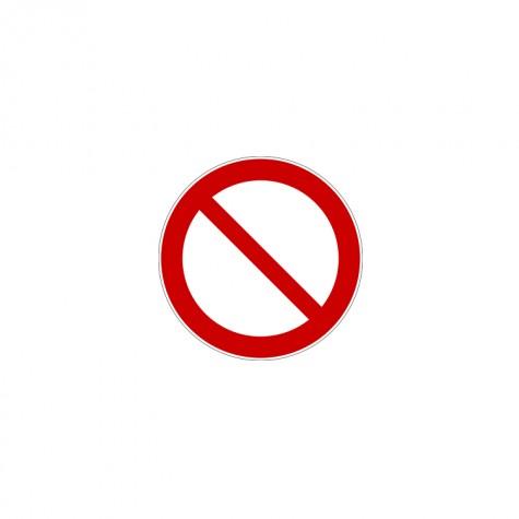 """Znacznik 5s """"Ogólny znak zakazu"""""""