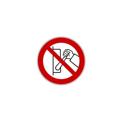 """Znacznik 5s """"Zakaz uruchamiania maszyny (urządzenia)"""""""