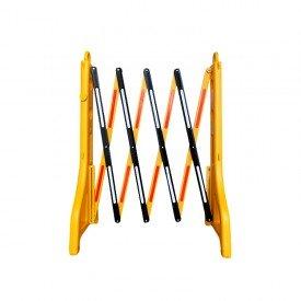 Bariera nożycowa PVC rozciągana do 2,5 m