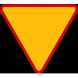 A-7e Ustąp pierwszeństwa - znak drogowy ostrzegawczy