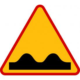 A-11 Nierówna droga - znak drogowy ostrzegawczy