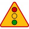 A-29 Sygnały świetlne - znak drogowy ostrzegawczy