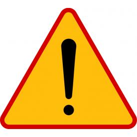 A-30 Inne niebezpieczeństwo - znak drogowy ostrzegawczy