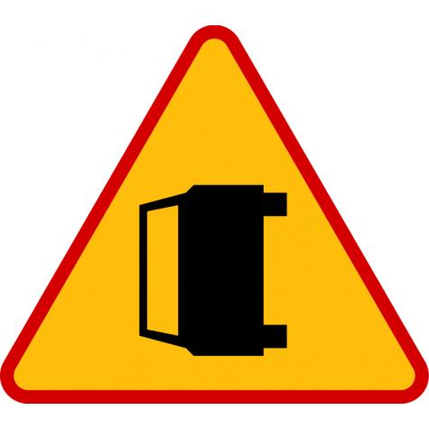 A-34 Wypadek drogowy - znak drogowy ostrzegawczy