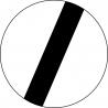 B-42 Koniec zakazów - znak drogowy zakazu