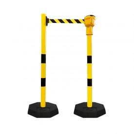 Słupki przemysłowe Skipper żółte końcowe