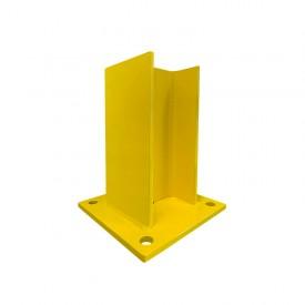 Uchwyt typ H wys. 20 cm do odbojnic drewnianych