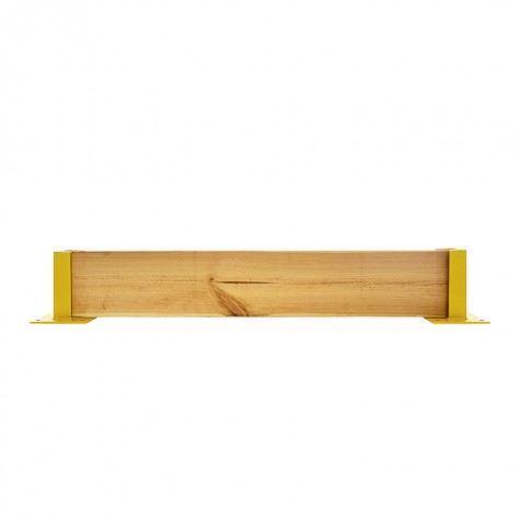 Osłona regałów drewniana pojedyncza