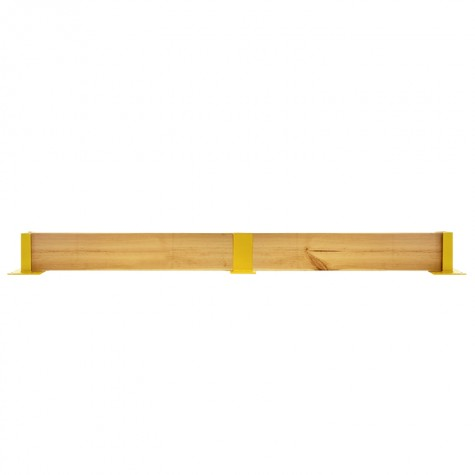 Osłona regałów drewniana podwójna