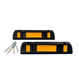 Ograniczniki parkingowe 60 cm + elementy montażowe