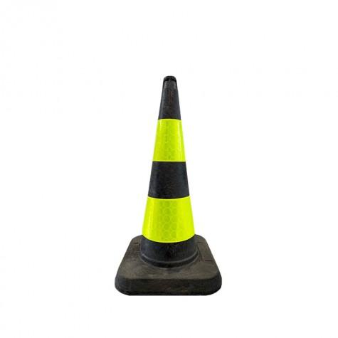 Pachołek drogowy odblaskowy MPL 75 cm żółto-czarny