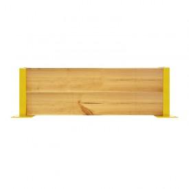 Osłona regałów drewniana pojedyncza wys. 40 cm