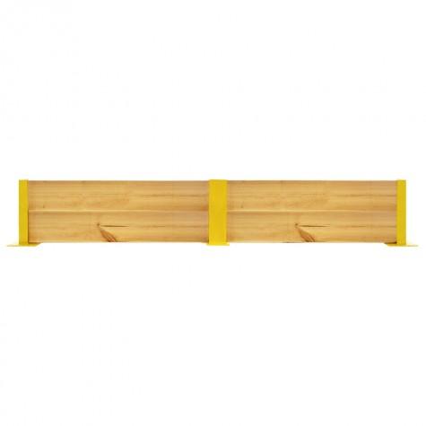 Osłona regałów drewniana podwójna wys. 40 cm
