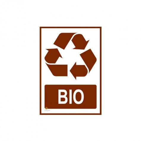 Tabliczka segregacja odpadów BIO
