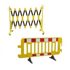 Barierki i ogrodzenia tymczasowe