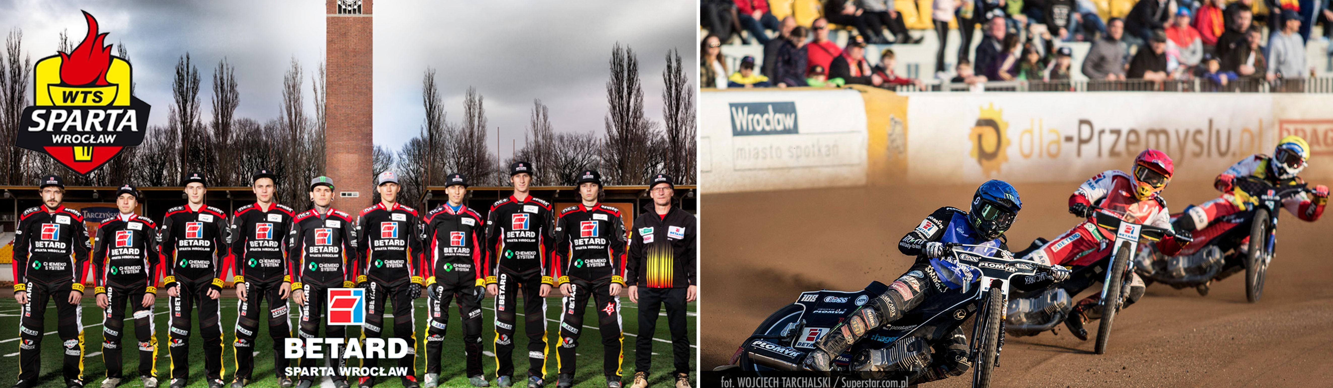 Z dumą wspieramy WTS Spartę Wrocław w walce o trofeum w najlepszej lidze żużlowej świata!