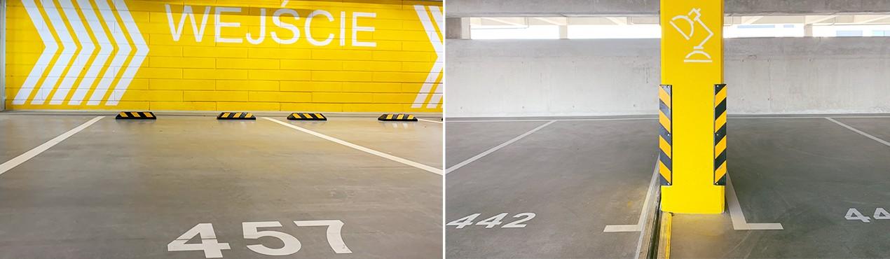 Ograniczniki parkingowe i zabezpieczenia narożnika